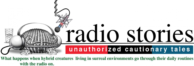 Victor Stabin's Radio Stories Logo
