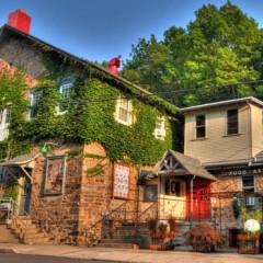 The Stabin Morykin building in Jim Thorpe, Pennsylvania