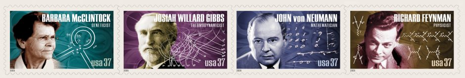 SCIENTIST US Postal STAMPS 2