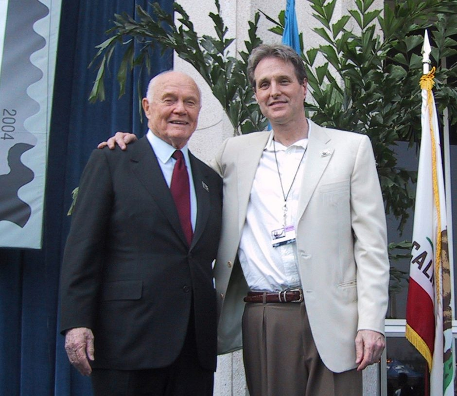 John Glenn and Victor Stabin